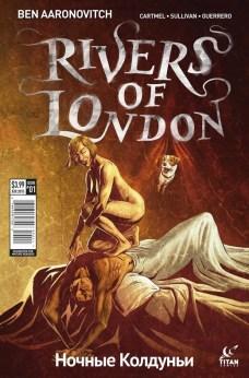 Rivers of London The night witch Portada alternativa de Lee Sullivan