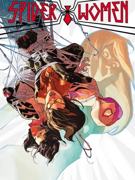 Spider-Women-Alpha Portada principal de Yasmine Putri y J. Scott Campbell