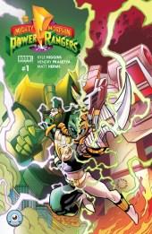 Powers Rangers Variant Cover Third Eyes Comics
