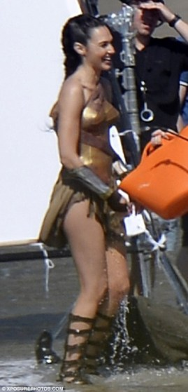Rodaje Wonder Woman