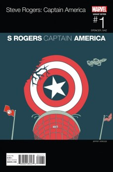 Captain America Steve Rogers Portada hip hop de Jeffrey Veregge