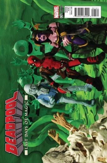 Deadpool Last Days Of Magic Portada alternativa de Edgar Delgado