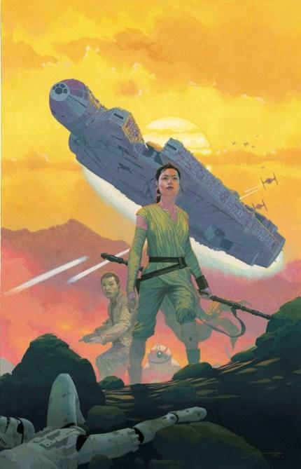 Star Wars El despertar de la Fuerza 1