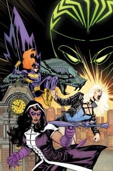 Batgirl and the Birds of Prey Rebirth Portada alternativa de Ben Caldwell