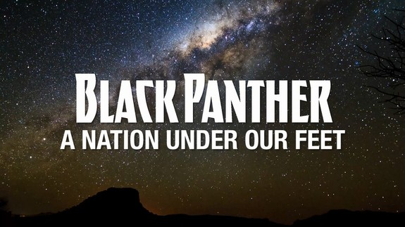 Black Panther A Nation Under Our Feet Pantera Negra