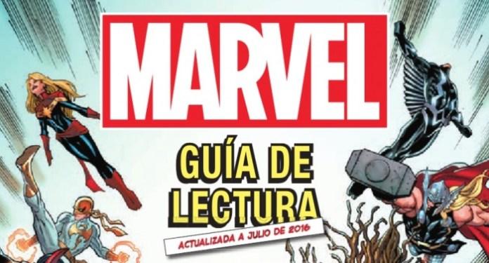 Guía de lectura Marvel Panini Cómics