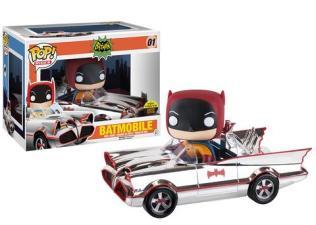 Funko Batman Batmovil Cromado