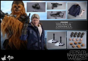 Hot Toys Han Solo Chewbacca (8)