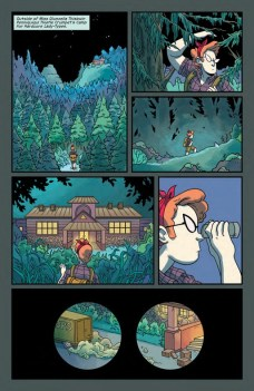 Lumberjanes Gotham Academy Página interior (2)