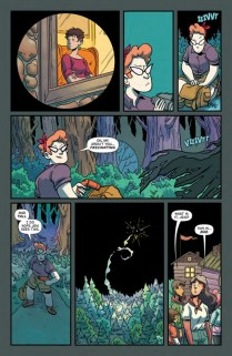 Lumberjanes Gotham Academy Página interior (3)