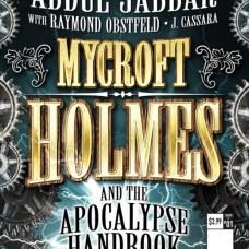 Mycroft Holmes The Apocalypse Handbook Portada alternativa de Rod Reis