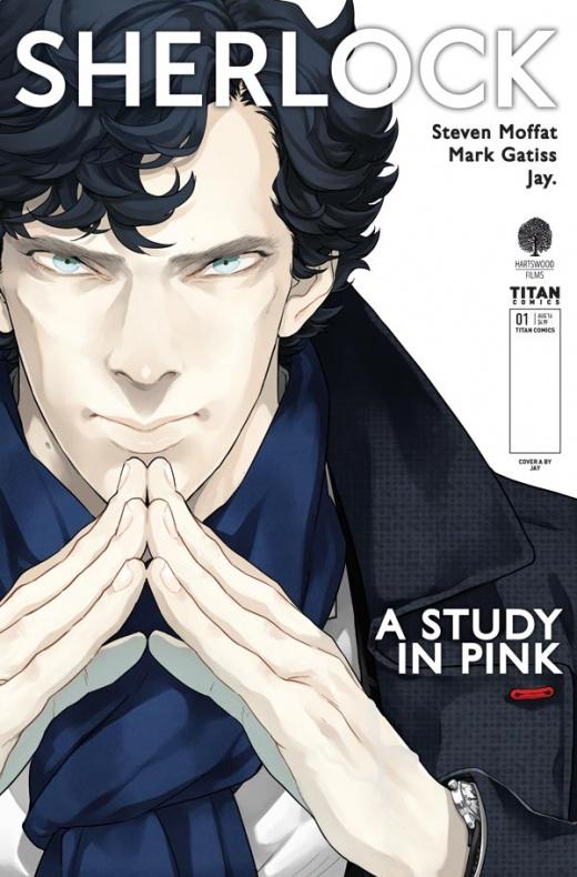 Sherlock A Study in Pink Portada principal de Jay