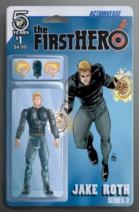 The F1rst Hero Wednesday's Child Portada alternativa de Marco Renna, Fred C. Stresing y Anthony Ruttgaizer