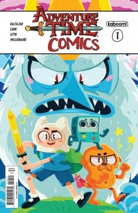 Adventure Time Comics Portada principal de Erin Hunting