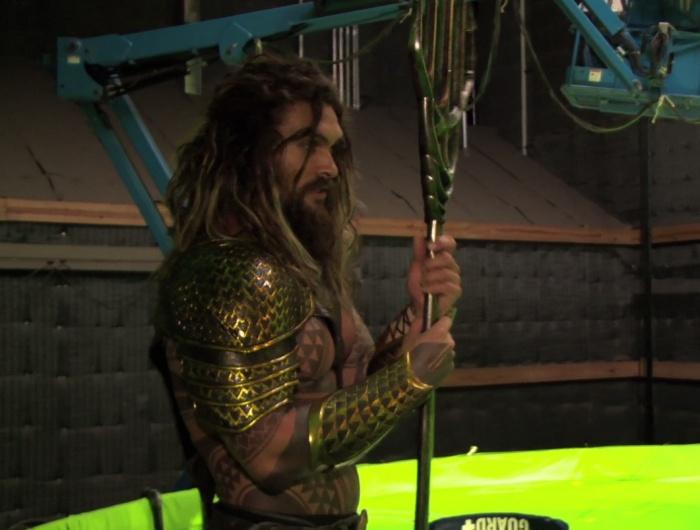 Nuevas imágenes de Aquaman en el rodaje de 'Batman v Superman'