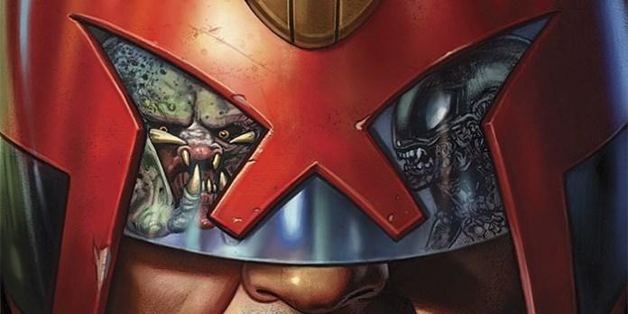Predator vs. Judge Dredd vs. Aliens Destacada