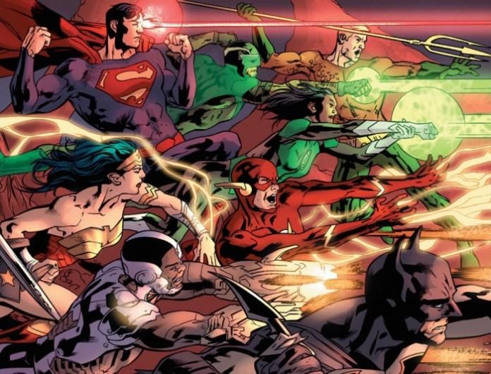Rebirth nueva formación Liga de la Justicia 03