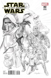 Star Wars El Despertar de la Fuerza 2 portada 2