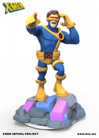 X-Men Disney Infinity figuras fanmade 06