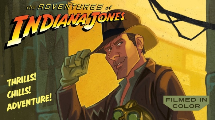 Indiana Jones animación