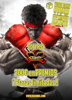 Street Fighter V - VGC Alicante 2016