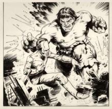 Steve Dillon - Hulk Weekly 03