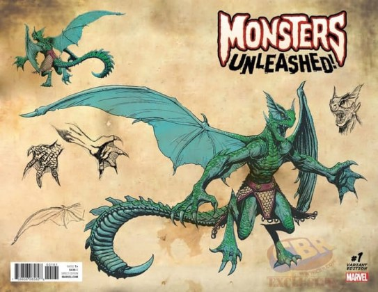 monsters unleashed cover variant
