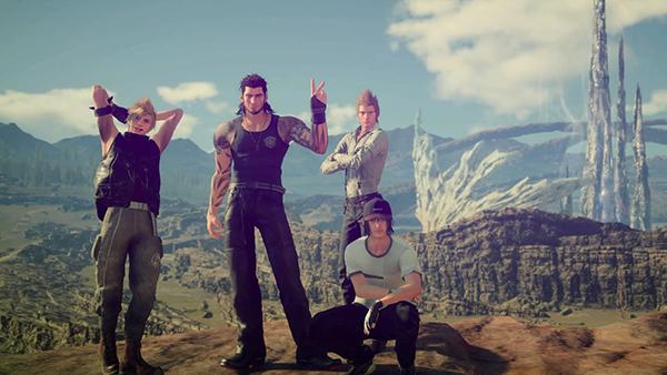 'Final Fantasy XV' MMO