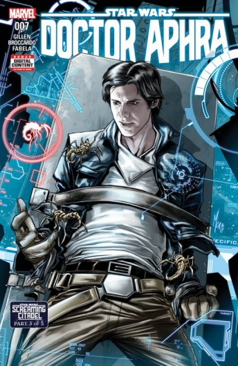 Star Wars Screaming Citadel 3 Portada