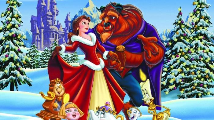 Cancion navidad bella y bestia