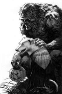 Swamp Thing - Superbear - Halloween - Wrightson
