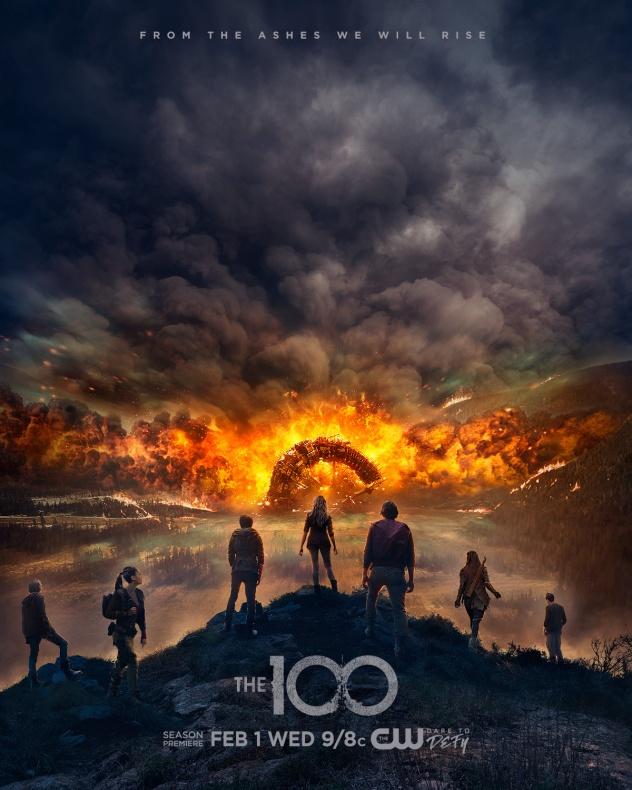 The 100 The CW 5 quita temporada