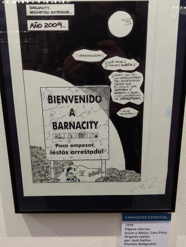 Fanhunter Barnacity Cels Piñol