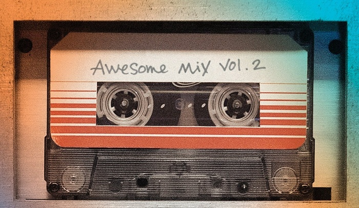 Guardianes de la Galaxia vol.2 Awesome Mix banda sonora