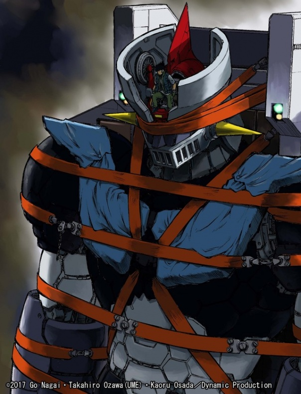 dos nuevos mangas Mazinger z