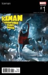 Portada de 'Iceman' #1