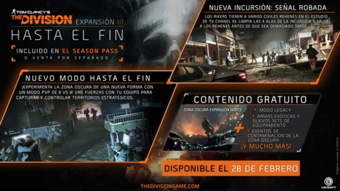 Tom Clacy's The Division Hasta eel fin