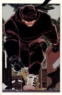 Daredevil traje Negro