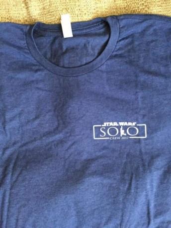 Se publican fotografías de las camisetas de producción del spin-off de Han Solo 010