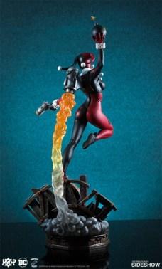 Tweeterhead presenta una nueva figura de Harley Quinn 003