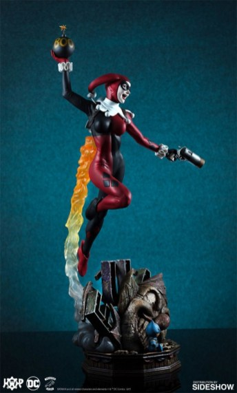 Tweeterhead presenta una nueva figura de Harley Quinn 005