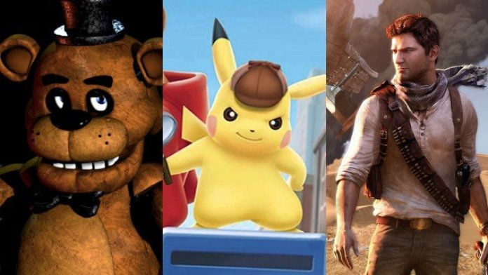 Películas de videojuegos