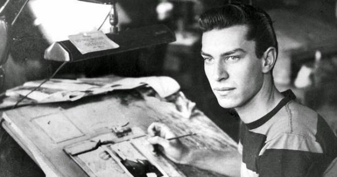 Fallece el actor Martin Landau a los 89 años joven dibujante