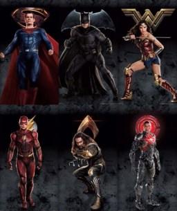 Filtrados los nuevos pósteres individuales de 'Liga de la Justicia' (5)