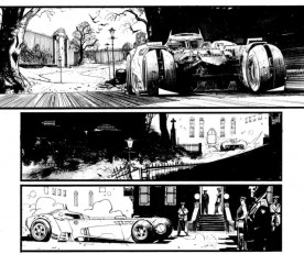batman white knight batmobile 1