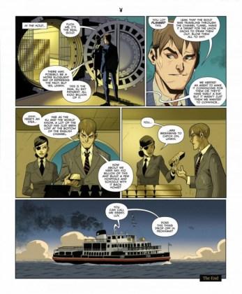 El cómic Kingsman The Big Exit ya ha sido publicado en la revista Playboy 2 copia
