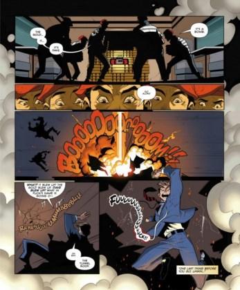 El cómic Kingsman The Big Exit ya ha sido publicado en la revista Playboy 4 copia