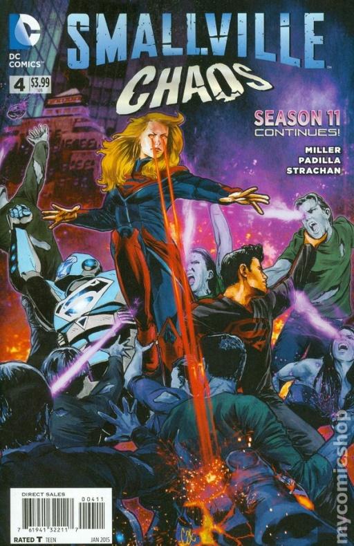Smallville Season 11 Chaos 02 - Agustín Padilla - VGCómic
