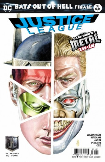 'Justice League' #33. 5