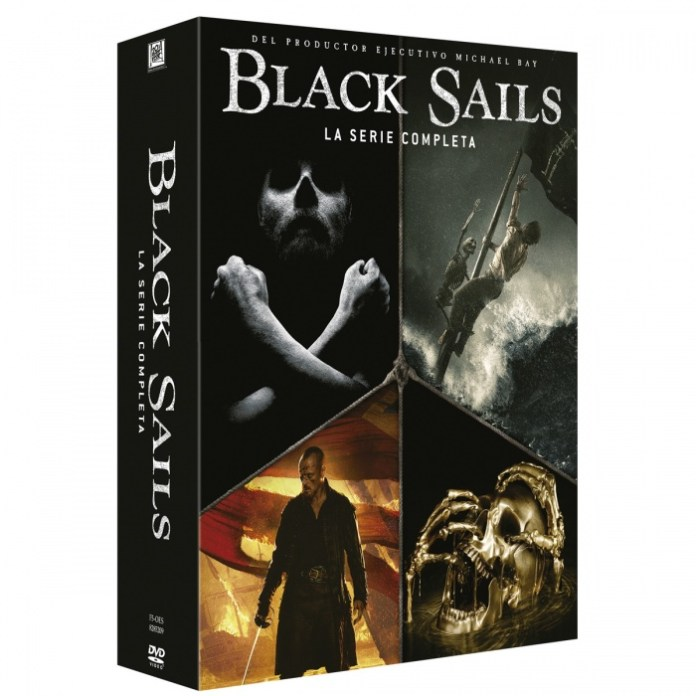 Black Sails - Pack DVD serie completa (Las mejores series para regalar) grande